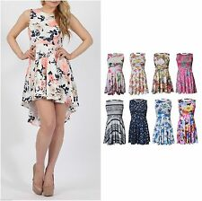 Unbranded Scoop Neck Party Floral Dresses for Women