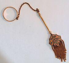 Tassel Handkerchief Holder * 9.8 G Antique Victorian 14K Yellow Gold Ornate