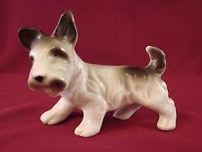 "Vintage Japan Skye Scotty Scottie Scottish Terrier Dog Figurine 3 1/8""T #Le1"