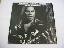 MERRELL FANKHAUSER - DOCTOR FANKHAUSER - REISSUE LP WHITE VINYL 1986 EXCELLENT