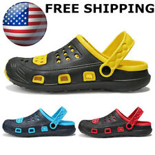 Mens Slippers Garden Clogs Sports Sandals Beach Water Slippers Casual Shoes US