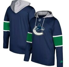 Adidas NHL Vancouver Canucks Hooded Hockey Jacket Mens Sizes New $85