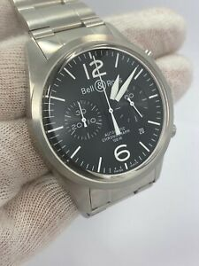 Bell & Rose Stainless Steel Automatic Chronograph Date 100m Swiss Watch
