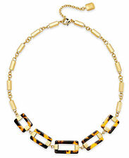 LAUREN Ralph Lauren 'Bar Harbor' Tortoise Link Gold-Tone Chain Necklace $74