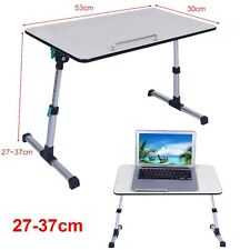 Foldable Alu Table Desk Sofa Bed Tray Stand Laptop Computer Height Adjustable UK