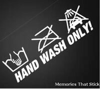HAND WASH ONLY Funny Car Van 4X4 Window Bumper JDM VW VAG Vinyl Decal Sticker 1