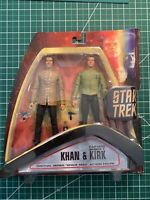Diamond Select Star Trek Khan and Kirk In Dress Attire Mint In Package ( New)