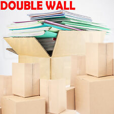 DOUBLE WALL *25 X LARGE Cardboard House Moving Boxes - Removal Packing box