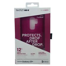 Tech21 Evo Check Slim Drop Protection FlexShock Case Galaxy S9 Plus - Dark Pink