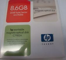 HP C7985A 8.6gb Rewritable Optical Media 2048 b/s  EDM-8600B EDM-8600C EDM-9100C