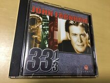 JOHN FARNHAM – 33 1/3 CD (VGC) I'VE BEEN LONELY SO LONG, YOU'RE THE ONLY ONE
