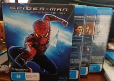 Spider-Man Trilogy Box Set -  Blu-Ray -  DVD  - FREE POST