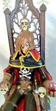 CAPITAN HARLOCK - Captain Harlock with Throne Pvc Figure HL Pro High Dream
