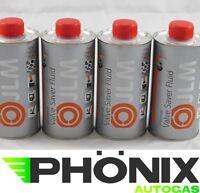 4x500ml JLM Ventilschutz 0,5L Nachfüllflasche  Autogas LPG Valve Saver Fluid