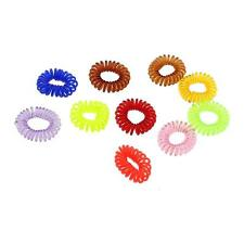 20Pcs Girls Traceless Hair Ring Rope Phone Line Elastic Band Ponytail Hairband