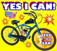 66cc/80cc 2-Stroke Motorized Bike Kit And 26� Cruiser Bike Do It Yourself Power