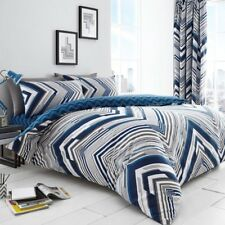 Austin Stripes Luxurious Duvet Cover Sets Reversible Bedding Sets /Fitted Sheets