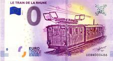 64 SARE Le train de la Rhune 2, N° de la 5ème liasse, 2018, Billet 0 € Souvenir