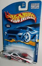 Hot Wheels 2001 Collector #099 Pro Stock Firebird White Red Black PR5s 50629