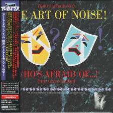 THE ART OF NOISE, WHO'S AFRAID OF, AUTH LTD ED CD, JAPAN 2008, XECZ-1011 (NEW)