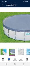 """Summer Waves® 16ft Elite Frame Pool with Filter Pump, Cover, and Ladder 16 x 48"""""""