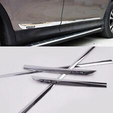 Chrome Car Body Side Door Molding Cover Trim kit For Toyota RAV4 2013-2016