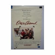 ONCE AROUND Holly Hunter Richard Dreyfuss Original Vintage Video Movie Poster