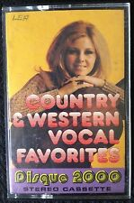 Country & Western Vocal Favourites Compilation Cassette Tape