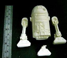 "3.5""Star Wars R2D2  Robot Sci-Fi Classic Movies Resin Model Kit 1/12"