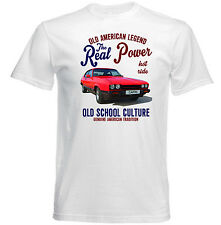 VINTAGE AMERICAN CAR FORD CAPRI MK 3 - NEW COTTON T-SHIRT