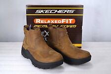 Men's Skechers with Memory Foam,64785,Holdren Volsent Chukka Boot,Light Brown,10