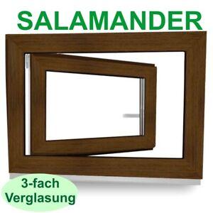 Kunststofffenster Nussbaum Kellerfenster Salamander Fenster 3fach Verglasung