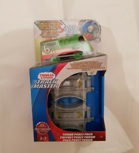 Thomas Tank & Friends TRACKMASTER REVOLUTION MOTORIZED TURBO PERCY TRAIN NEW