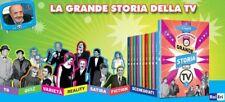 15 Dvd Lotto Stock LA GRANDE STORIA DELLA TV TELEVISIONE di Maurizio Costanzo