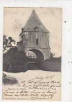Environs de Malines l'Ecluse de Weerde Belgium 1901 U/B Postcard 868a