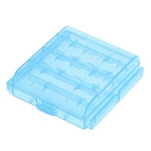 Akkubox Batteriebox Box für 4 Batterien Akkus Accus Mignon Micro AA AAA