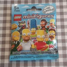 Lego minifigures the simpsons series 1 unopened sealed random mystery blind bag