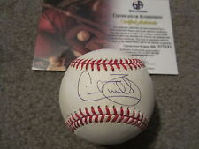 Cecil Fielder Autographed American League Baseball Global Authentics Tigers