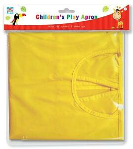 BRAND NEW KIDS CREATE CHILDREN PLAY APRON ART CRAFT PAINTING COVER  PLAY APRON
