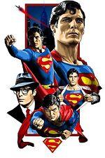 Superman # 14 - 8 x 10 Tee Shirt Iron On Transfer Christopher Reeve