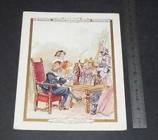 CHROMO 1900-1905 AU BON MARCHE BOUCICAUT VIEUX PARIS CHEZ L'ANTIQUAIRE