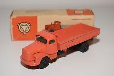 JUE BRAZIL SCANIA VABIS TRUCK ORANGE SALMON NEAR MINT BOXED RARE SELTEN RARO