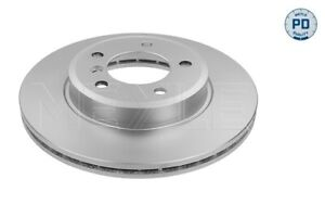 MEYLE PD Brake Rotor Front Pair 383 521 3020/PD fits BMW 3 Series 318 i (E46)...