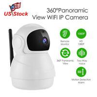 Wireless 360° Panoramic 1080P Security WIFI Network CCTV IP Camera Night Vision