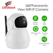Wireless 360° Panoramic 1080P Security Wifi Network Cctv Ip Camera Night Vision
