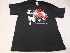 "Muhammad Ali Black ""All I Do Is Win""  Men's T-shirt Size Large--NWT"