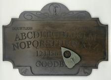 A4 Premium Wood-Effect Raven Ouija Board Set With Planchette, Edgar Allan Poe