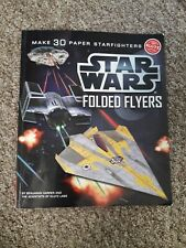 'Star Wars Craft Book - Mke a fleet of 30 ships: X Wing, Tie Fighter, Mil Falcon