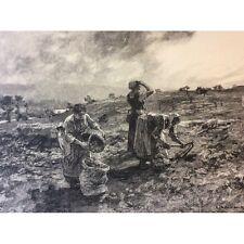 Léon Lhermitte clément Bellanger la récolte des pommes de terre