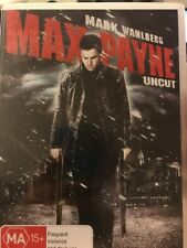 Max Payne Uncut - DVD - Mark Wahlberg - Like New - Free Post!